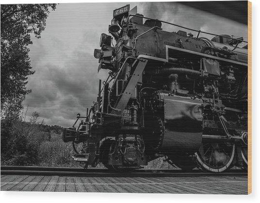 Steam Loco 765 Wood Print