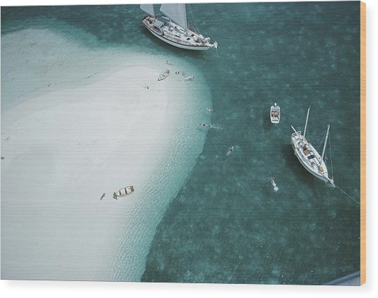 Stocking Island, Bahamas Wood Print