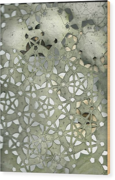 Stone Sky Wood Print