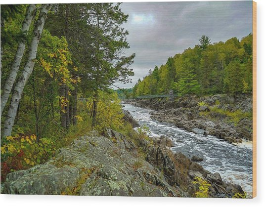 Storm Clouds At Jay Cooke Wood Print