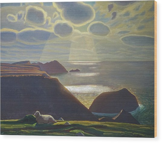 Sturrall Donegal Ireland Wood Print by Rockwell Kent