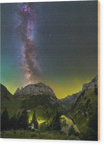 Summer's End Wood Print