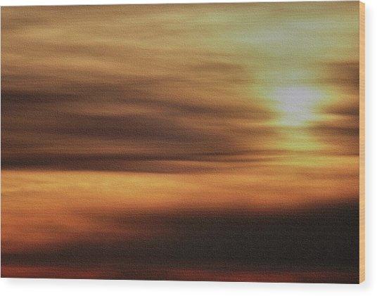 Sunburnt Wood Print