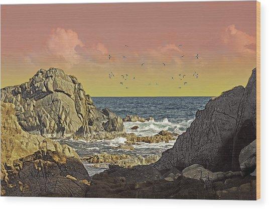 Sundown At Buck Wood Print