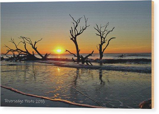 Sunsup Wood Print