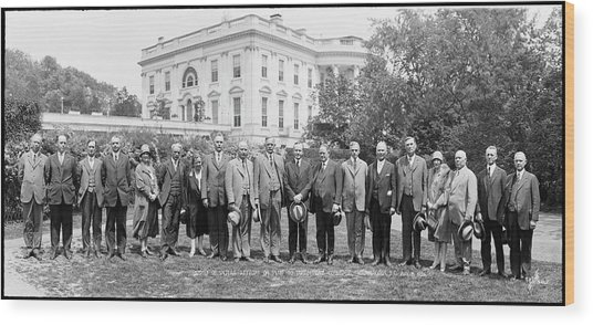 Superintendents Of Indian Affairs Wood Print