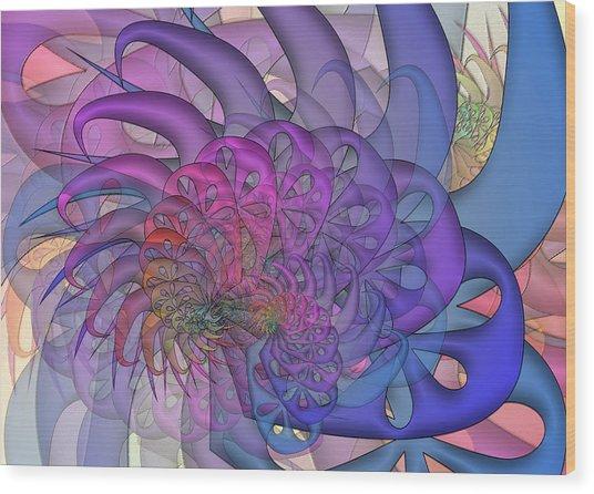 Surreal Wood Print