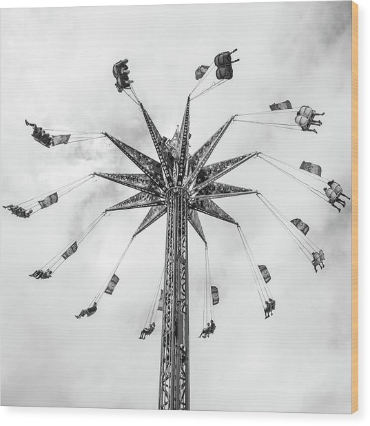 Wood Print featuring the photograph Swing  by Whitney Leigh Carlson