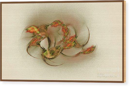Ta Bitjet Scorpion Goddess Wood Print