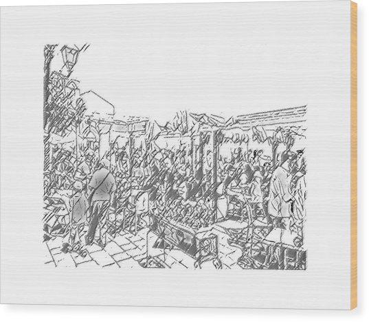 Taormina - Wunderbar Wood Print