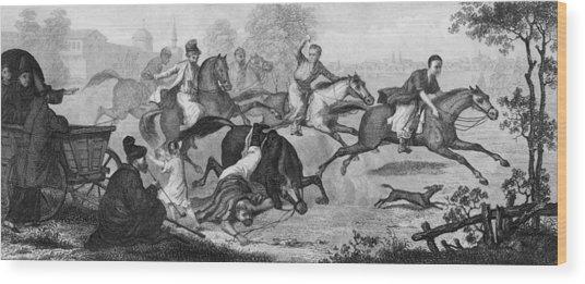 Tartar Tyranny Wood Print by Hulton Archive