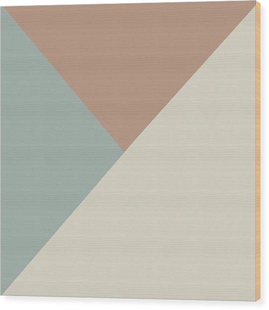 Terrazzo Corners 2- Art By Linda Woods Wood Print
