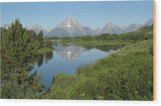 Teton Moment Wood Print