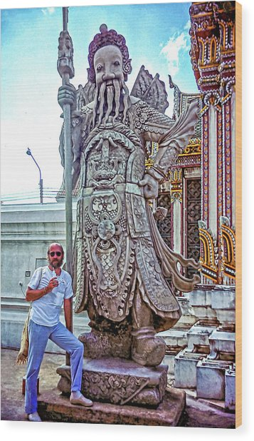 Thai Bodyguard Wood Print