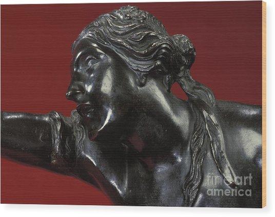 The Abduction Of Helen, 1683-86 Bronze Wood Print
