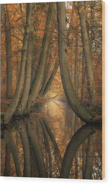 The Bent Ones Wood Print