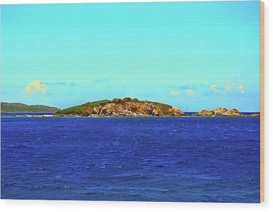 The Cay Wood Print