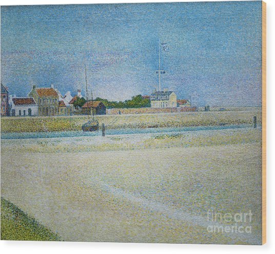 The Channel Of Gravelines Grand Fort Philippe Wood Print