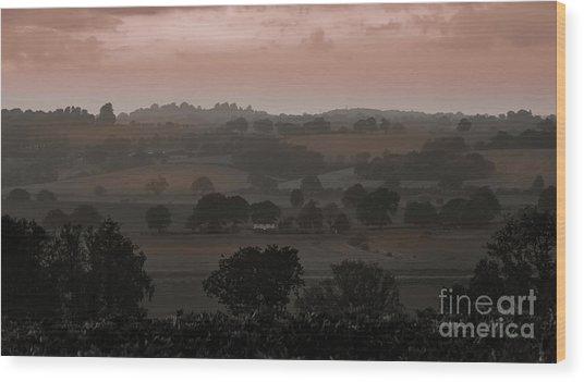 The English Landscape Wood Print