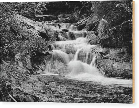 The Falls End Wood Print