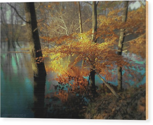 The Golden Bough Wood Print