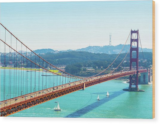 The Golden Gate Bridge I Wood Print