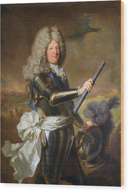 The Grand Dauphin - Louis De France Portrait Wood Print