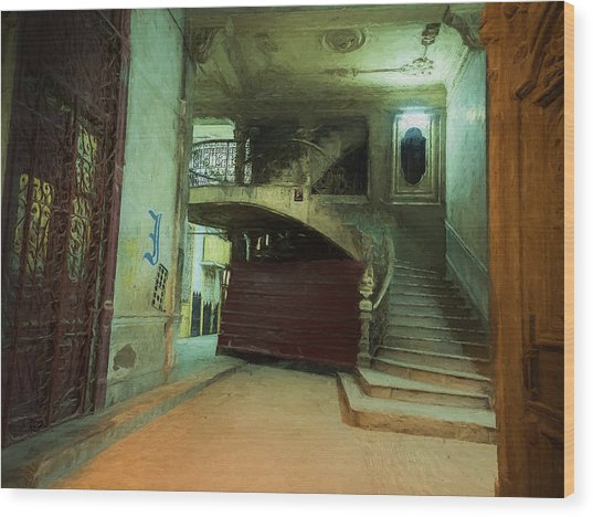 The Grand Entrance Wood Print