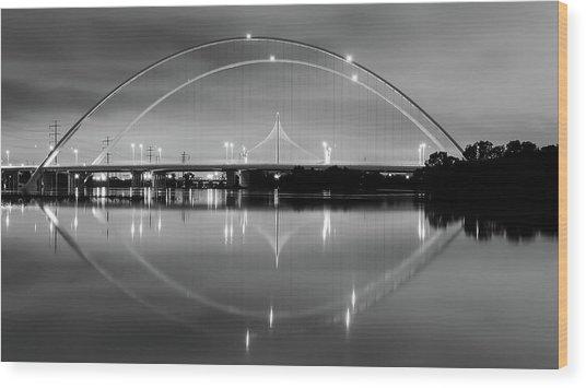 The Margaret Mcdermott Bridge Wood Print