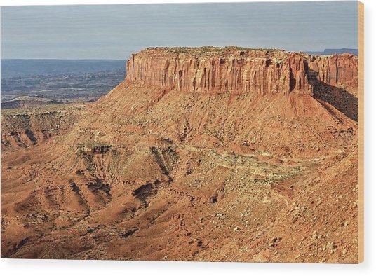 The Mesa Wood Print