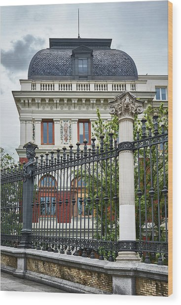 The Ministry Of Agriculture, Fisheries, Food And Environment In Madrid Wood Print