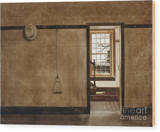 The Outer Hall Wood Print