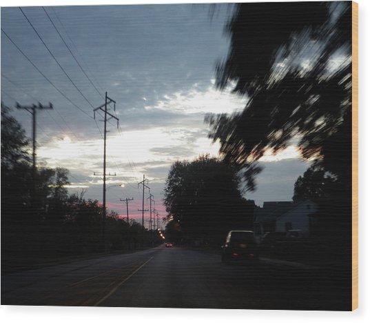 The Passenger 02 Wood Print