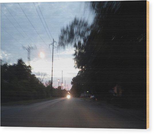 The Passenger 04 Wood Print