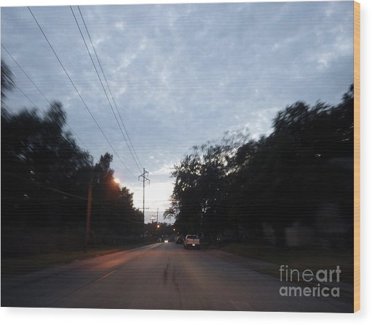 The Passenger 06 Wood Print