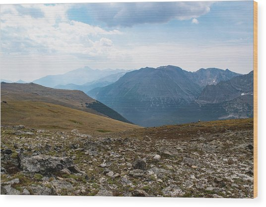 The Rocky Arctic Wood Print