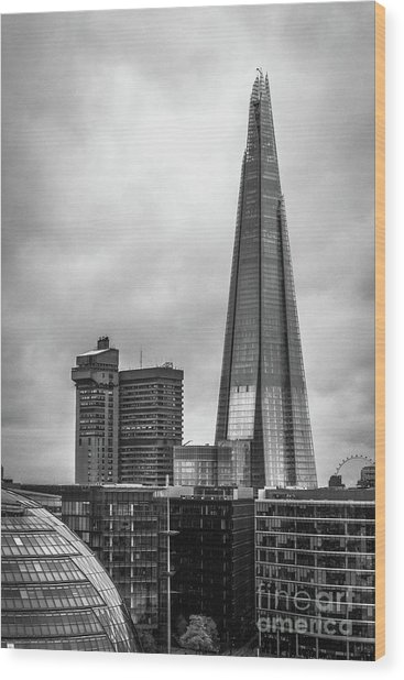 The Shard Wood Print