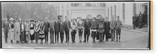 The Students League Of Many Nations Wood Print
