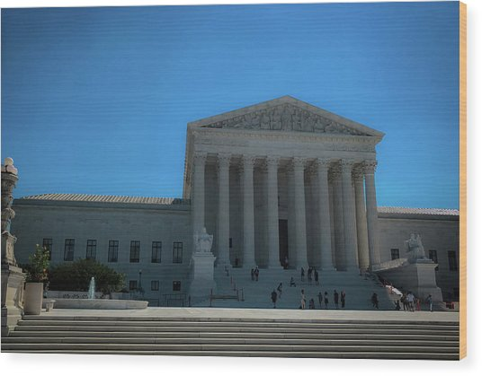 The Supreme Court Wood Print