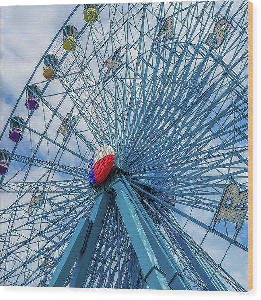 The Texas Star, State Fair Of Texas Wood Print