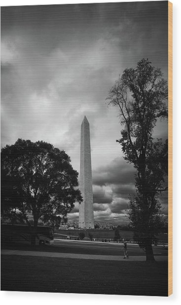 The Washington Monument Wood Print