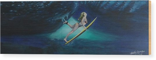 The Wedge - Duck Dive Wood Print
