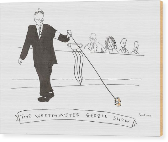 The Westminster Show Wood Print