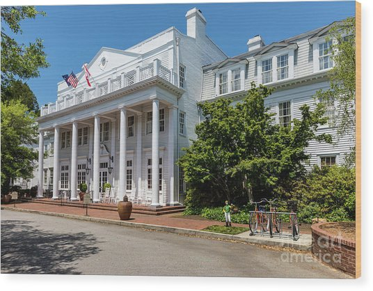 The Willcox Hotel - Aiken Sc Wood Print