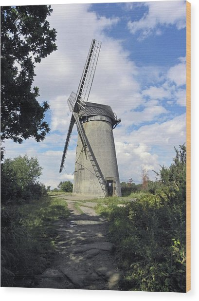 The Wirral. The Windmill On Bidston Hill. Wood Print