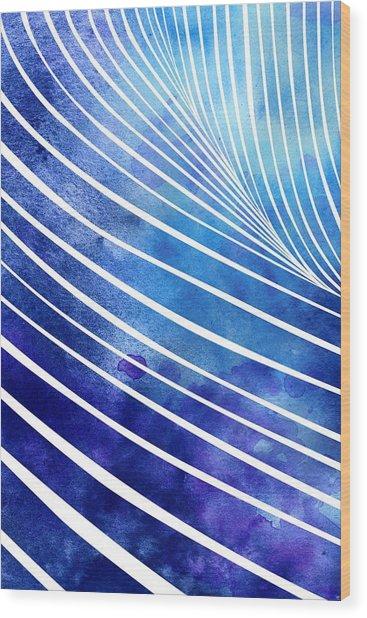 Tide Xiv Wood Print