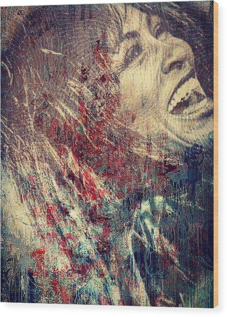 Tina Turner Spirit  Wood Print