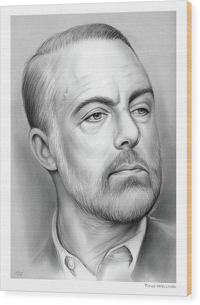Titus B. Welliver Wood Print