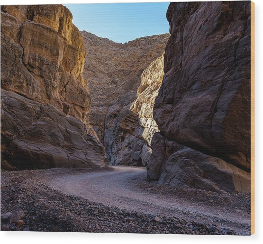 Wood Print featuring the photograph Titus Canyon I by William Dickman