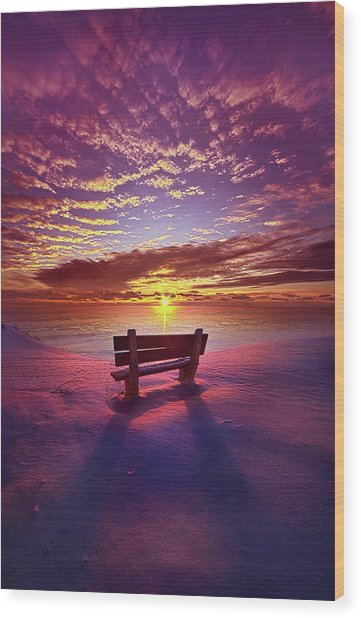 Wood Print featuring the photograph To Belong To Oneself by Phil Koch